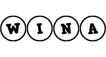 Wina handy logo