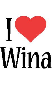 Wina i-love logo