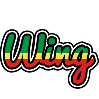 Wing african logo
