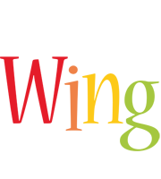 Wing birthday logo