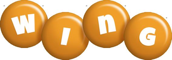 Wing candy-orange logo