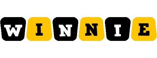 Winnie boots logo