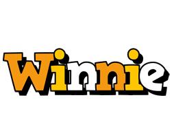Winnie cartoon logo