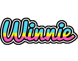 Winnie circus logo
