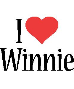 Winnie i-love logo