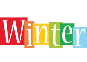 Winter colors logo