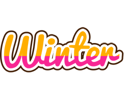 Winter smoothie logo