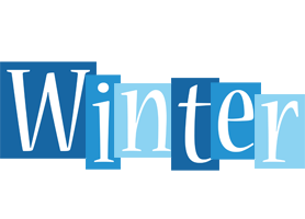 WINTER logo effect. Colorful text effects in various flavors. Customize your own text here: https://www.textGiraffe.com/logos/winter/