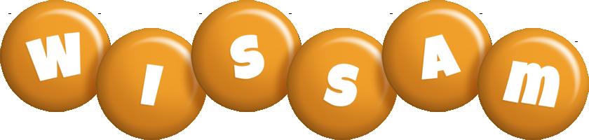 Wissam candy-orange logo