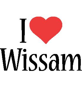 Wissam i-love logo