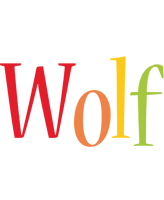 Wolf birthday logo