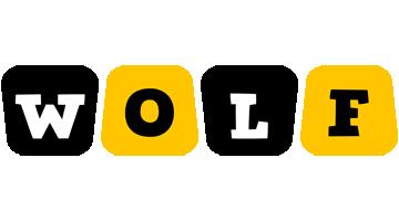 Wolf boots logo
