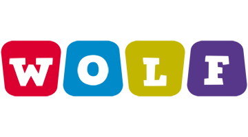 Wolf daycare logo