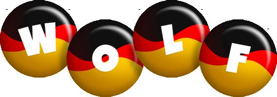 Wolf german logo