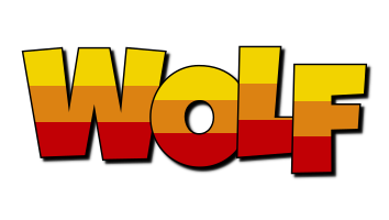 Wolf jungle logo
