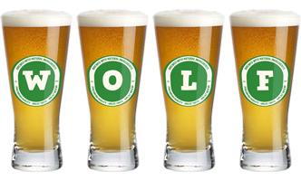 Wolf lager logo