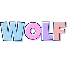 Wolf pastel logo