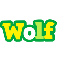 Wolf soccer logo