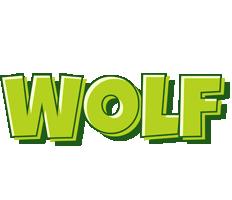 Wolf summer logo