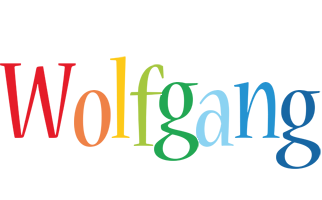 Wolfgang birthday logo