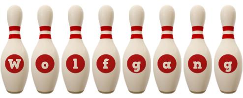 Wolfgang bowling-pin logo