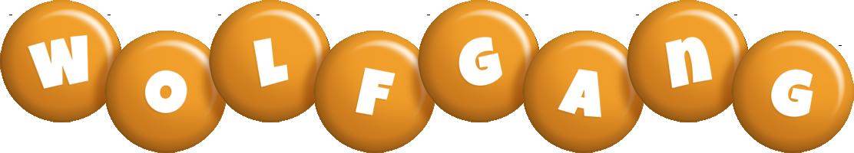 Wolfgang candy-orange logo