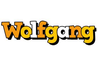 Wolfgang cartoon logo