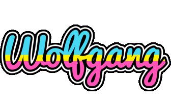 Wolfgang circus logo