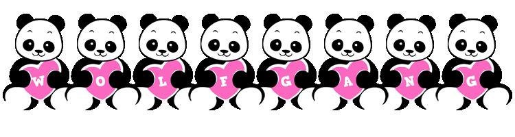 Wolfgang love-panda logo