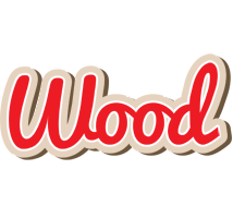 Wood chocolate logo