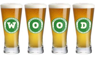 Wood lager logo