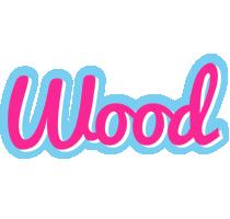 Wood popstar logo
