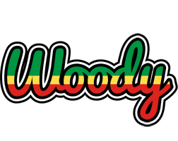 Woody african logo