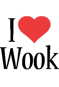 Wook i-love logo