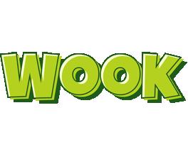 Wook summer logo