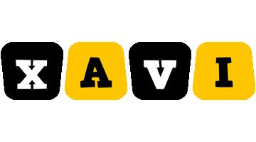 Xavi boots logo
