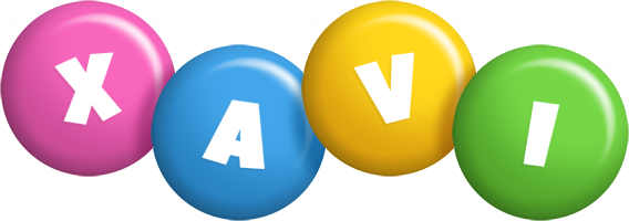 Xavi candy logo