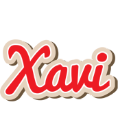 Xavi chocolate logo