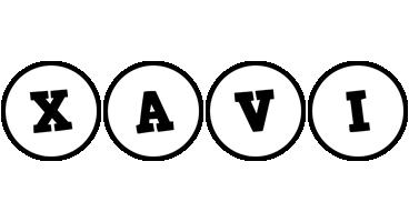 Xavi handy logo