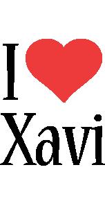 Xavi i-love logo