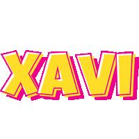 Xavi kaboom logo