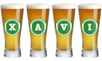 Xavi lager logo