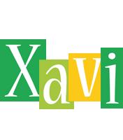 Xavi lemonade logo