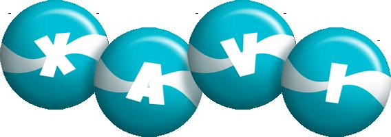Xavi messi logo
