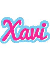 Xavi popstar logo