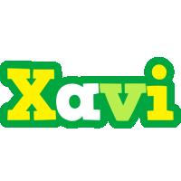 Xavi soccer logo