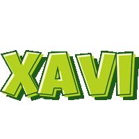 Xavi summer logo