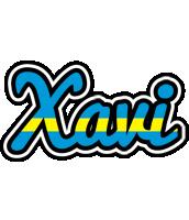 Xavi sweden logo
