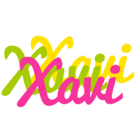 Xavi sweets logo