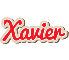 Xavier chocolate logo